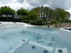 Infinity Vanishing Edge Hot Tub - traditional - swimming pools and spas - vancouver - Coast Spas Hot Tubs