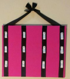 CHEER BOW HOLDERS | Hot Pink, Black, and White Cheer Bow Holder on Etsy, ... | Cheer Ideas Cheer Gifts, Cheer Mom, Cheer Stuff, Cute Bows, Big Bows, Bow Display, Cheer Hair Bows, Cheer Dance, Pink Black