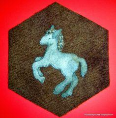 Stitch Society Wool Hexagon pony