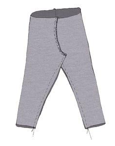 couture entre-jambes leggings enfant