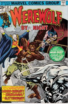 Werewolf by Night 37 March 1976 Issue  Marvel by ViewObscura