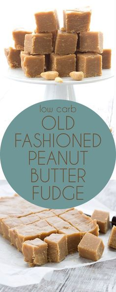 Simply the best low carb keto peanut butter fudge. Made in the old fashioned style! No cream cheese. Simply the best low carb keto peanut butter fudge. Made in the old fashioned style! No cream cheese. Mini Desserts, Desserts Keto, Keto Friendly Desserts, Atkins Desserts, Fudge Recipes, Candy Recipes, Dessert Recipes, Dessert Ideas, Kraft Recipes