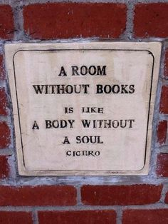 Every room in my house has books in it...except the bathroom. *shrug* Bathrooms don't need souls