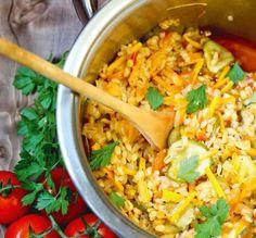 Patiekalai su perlinėmis kruopomis: salotos, sriubos, troškiniai | Ji24.lt