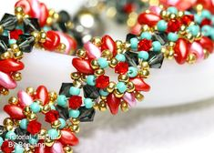 Tutorial Escha Bracelet by bybeejang on Etsy