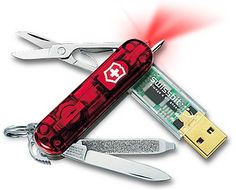 Universal Swiss Army Knife for the modern office survivor  #mensgifts #USB