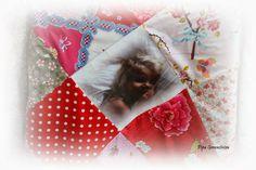 knuffelplaid gemaakt van Pip Studio stof  Pipa Greenström      Hobby handwerk uut de Noordkop: Pip Studio, Baby Sheets, Blankets, Pipes, Hobby Craft, Blanket, Cover, Comforters