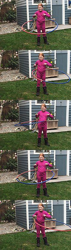 How To Make a Homemade Hula Hoop: Tutorial School Equipment, Backyard For Kids, Hula Hoop, Diy On A Budget, Fun Games, Summer Fun, Activities For Kids, Birthday Parties, Birthdays