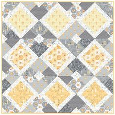 Winnie The Pooh Free Quilt Pattern by Camelot Fabrics Baby Quilt Tutorials, Baby Quilt Patterns, Quilting Patterns, Quilting Ideas, Quilting Board, Quilting Projects, Quilting Designs, Sewing Projects, Baby Quilts To Make