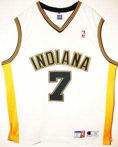 Champion NBA Basketball Indiana Pacers #7 Jermaine O'Neal Authentic Trikot / Jersey Size 52 - XXL - 137,90€ #nba #basketball #trikot #jersey #ebay #sport #fitness #fanartikel #merchandise #usa #america #fashion #mode #collectable #memorabilia #allbigeverything