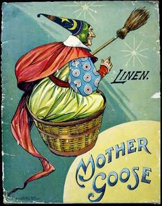 Mother Goose: the benign archetype descended from the Witch storyteller