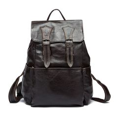 110.67$  Watch here - http://alipel.worldwells.pw/go.php?t=32567607642 - 17 inch first layer cowhide leather backpack for men laptop bag genuine leather men backpack casual travel backpacks vintage 110.67$