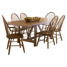 Weathered dining table in weathered oak.Product: Dining table    Construction Material: Select hardwoods, pine an...