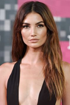 We rounded up our favorite brunettes across the color spectrum: Lily Aldridge