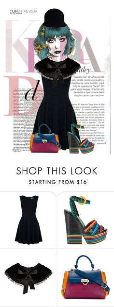 """Untitled #735"" by skirtthenorm on Polyvore featuring Oasis, Sergio Rossi, Salvatore Ferragamo and Chanel"