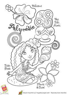 Cette remarquable représentation montre toutes les caractéristiques de la Polynésie, quelques adorables îles pleines de coquillages et de belles fleurs. Embellis ce beau dessin par ta créativité et joue avec toutes les couleurs. Après, tu pourras la mettre dans un joli cadre pour décorer ta chambre. Elle est totalement gratuite donc n'hésite plus et imprime tout de suite.