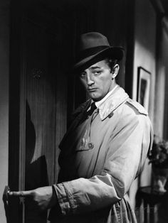 out of the past 1947   Out Of The Past, Robert Mitchum, 1947. Mitchum is Jeff Bailey, nobody's fool. Until the end, of course, when he is shot in the crotch by Kathie Moffet, played by Jane Greer. Yet another double-cross in a movie full of them.