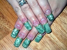 Money nails nail designs pinterest pedicures acrylic nail designs ideas green cute acrylic nail designs nail ideas inspiration prinsesfo Gallery
