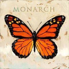 Monarch Butterfly Art | Amberton Publishing Monarch Butterfly' Canvas Art