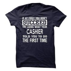 Cashier T-Shirt - #checkered shirt #tshirt sayings. TAKE IT => https://www.sunfrog.com/LifeStyle/Cashier-T-Shirt-50147900-Guys.html?68278