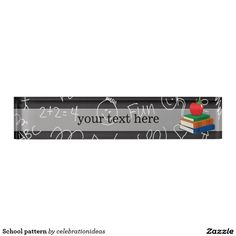 sold #School #pattern name plate #teacher Available in different products. Check more at www.zazzle.com/celebrationideas