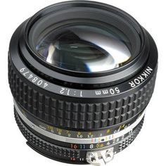 $700 // Nikon NIKKOR 50mm f/1.2 AIS Manual Focus Lens