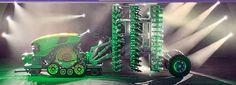 John Deere Reveals New 'Driverless' Tractor Concept John Deere Tractors, Electric Power, Heavy Equipment, Cars And Motorcycles, Concept, Board, Vehicles, Tractors, Car