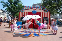 Zirkus Kindergeburtstag (Verleih) von myKinderparty auf DaWanda.com