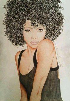 Art#cabellorizadonatural <3 <3