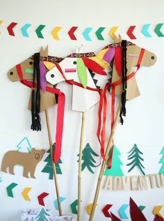 Discover recipes, home ideas, style inspiration and other ideas to try. Indian Birthday Parties, Indian Party, Cardboard Crafts, Paper Crafts, Anniversaire Cow-boy, Diy Crafts For Kids, Arts And Crafts, Indian Crafts, Art Activities