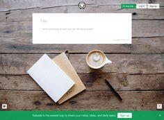 Taskade 分享記錄記事、點子及日常待辦事項最簡單方法
