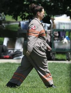 First look at Melissa McCarthy in her 'Ghostbusters' uniform in Boston - Names - The Boston Globe