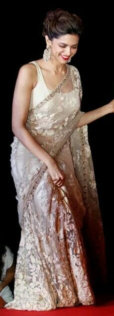 Deepika Padukone in lace