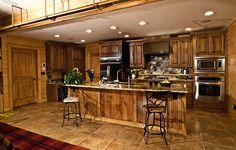 Elk River Rustic Alder Kitchen Cabinets