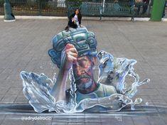 """#3D #adrydelrocio   """"El lamento de Chaac"""" More info: www.adrydelrocio.art"""
