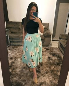 Amazing Outfit Ideas for Every Personal Style Modest Dresses, Modest Outfits, Cute Dresses, Casual Outfits, Cute Outfits, Modest Wear, Jw Fashion, Modest Fashion, Fashion Dresses