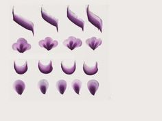 ESTETICA ACTUAL.. ACADEMIA ANADILIS REYES: PINCELADA AMERICANA ONE STROKE BASICO Uñas One Stroke, One Stroke Painting, Summer Nails, Margarita, Acrylic Nails, Folk Art, Nail Art, Flowers, Leaves
