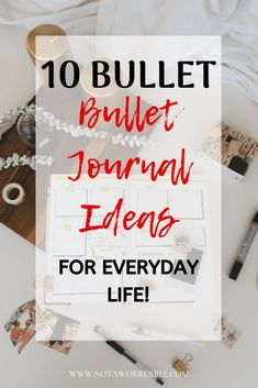 How to use Bullet Journals For everything - Not a Worker Bee Pens For Bullet Journaling, Bullet Journal Lettering Ideas, Bullet Journals, Journal Ideas, Life Planner, Weekly Planner, Assignment Planner, Create A Timeline, Types Of Journals