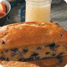 Blueberry Quick Bread Recipe | Chella's Common Cents