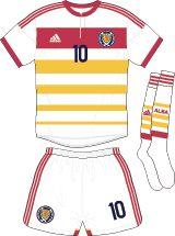 Scotland   away jersey   2014-16