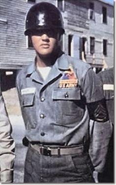 Elvis Presley In The U.S. Army 1958-1959