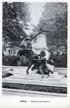 Eugene Delacroix, Paris