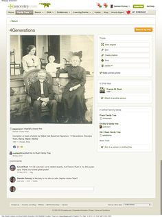 Gather 'Round The Table:  Get the Conversation Going with Global Commenting - Share your family pictures and everyone can comment on their memories of the people and events depicted.