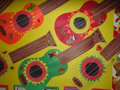 PATTIES CLASSROOM: Cinco de Mayo Craft - Mariachi Guitars