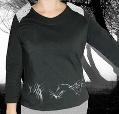 Textiles, T Shirts For Women, Crop Tops, Sweatshirts, Long Sleeve, Sleeves, Sweaters, Mens Tops, Fashion