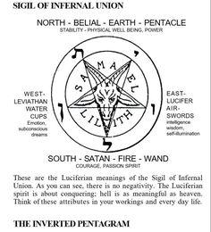 The Satanic Bible, Satanic Art, Satanic Cross, Occult Symbols, Occult Art, Magick, Witchcraft, Wicca, Laveyan Satanism