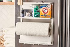 16 Laundry Room Organization Ideas: Hacks, Products & Photos   Apartment Therapy Laundry Supplies, Laundry Hacks, Laundry Room Organization, Organization Ideas, Storage Ideas, Organization Station, Laundry Storage, Organizing Tips, Small Storage