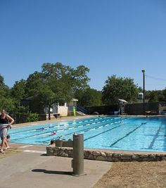Stacy Pool in Travis Heights/South Congress area. Uncommon Objects, Life Is Good, The Neighbourhood, Texas, Swimming, Explore, Outdoor Decor, Swim, The Neighborhood