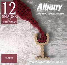 Claret from Albany Paint.  www.albanypaint.co.uk