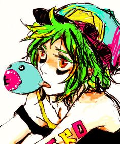 Vocaloid Gumi Panda Hero